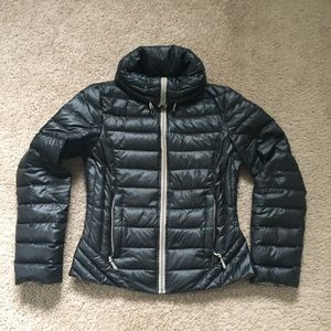 Kenneth Cole black down puffer jacket